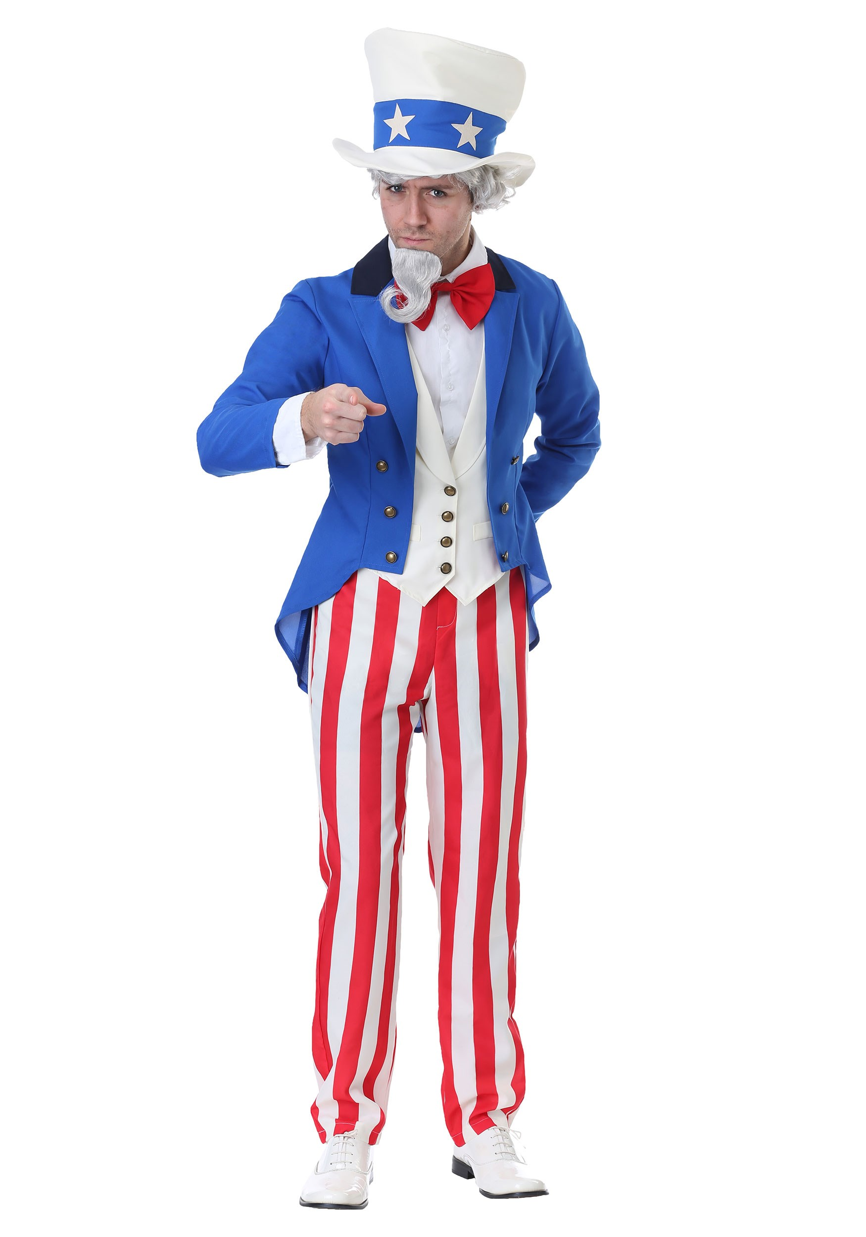 Classic Uncle Sam Costume for Men
