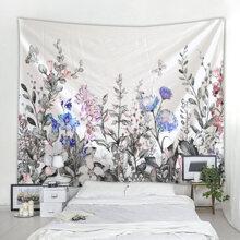 Floral Print Tapestry