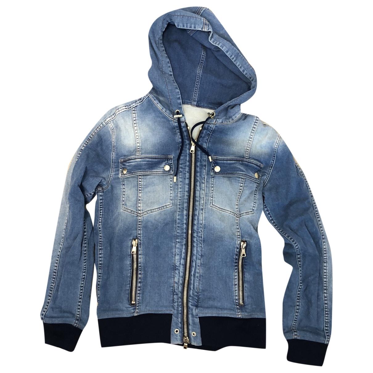 Balmain \N Blue Cotton Knitwear & Sweatshirts for Men M International