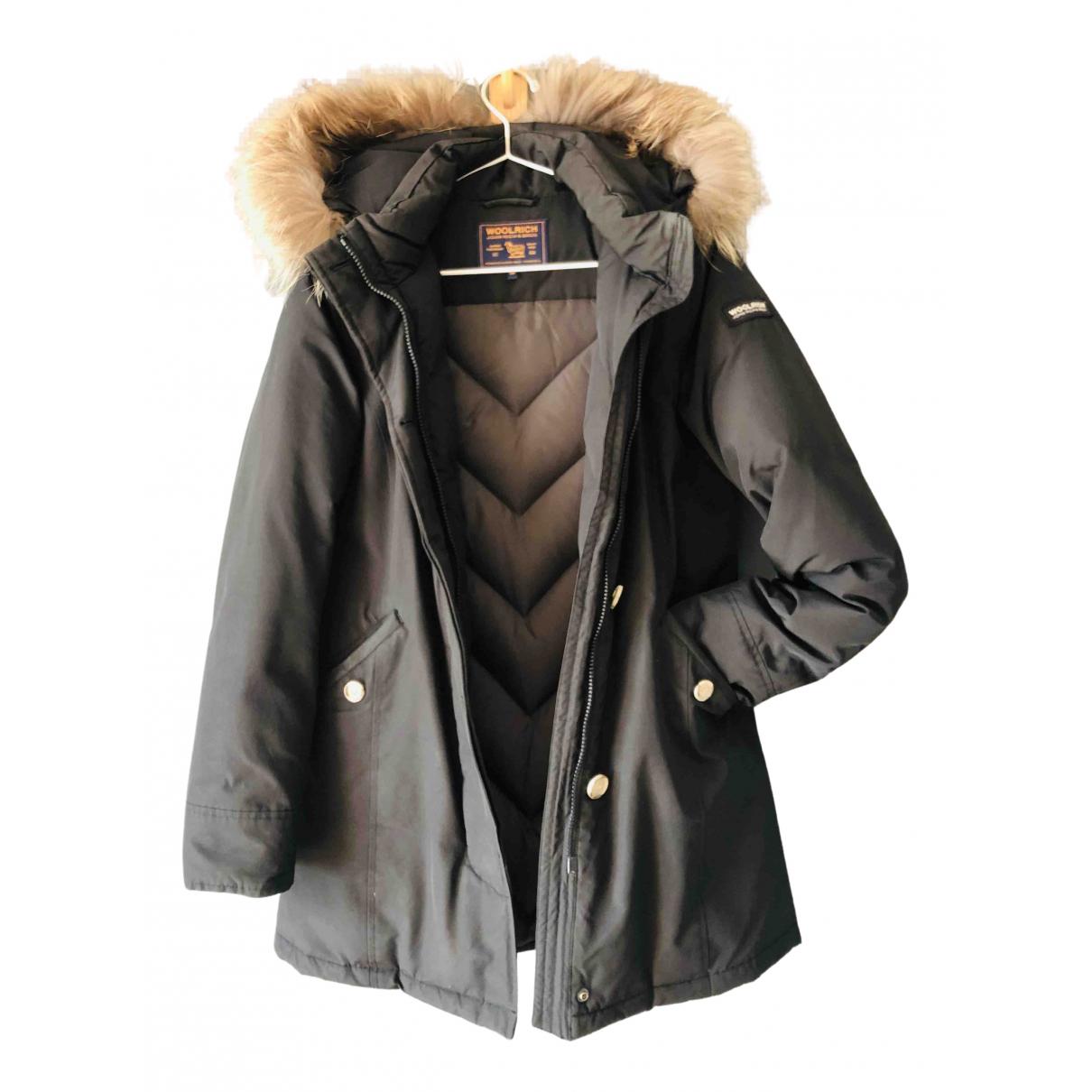 Woolrich - Manteau   pour femme - noir