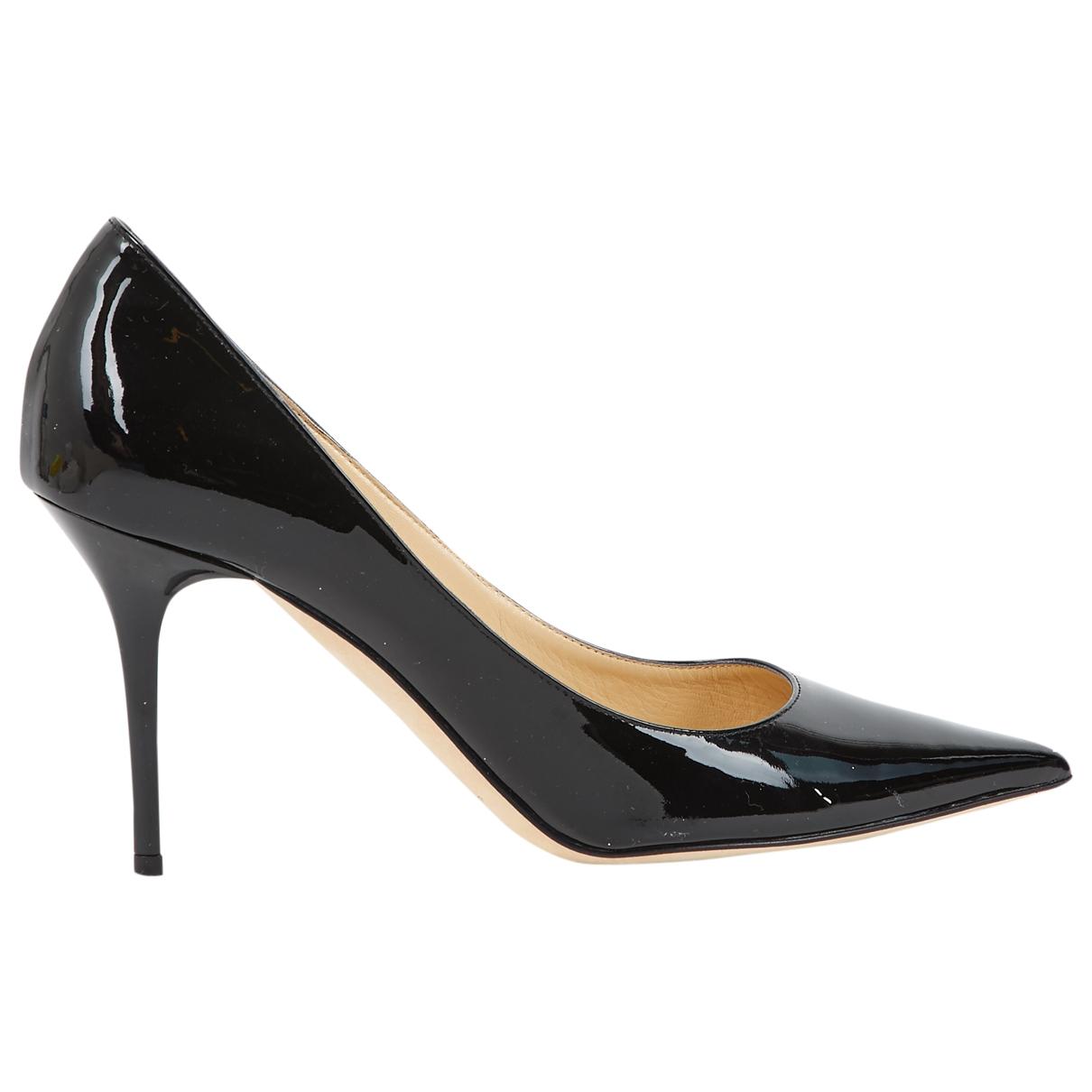 Jimmy Choo \N Black Patent leather Heels for Women 39 EU