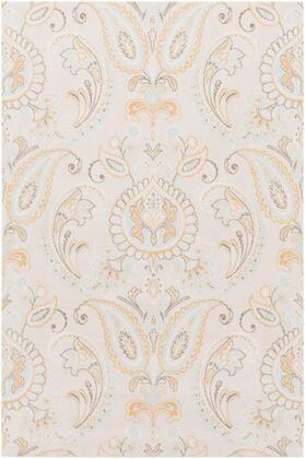 SPO1001-912 9' x 12' Rug  in Tan and Aqua and Camel and Blush and