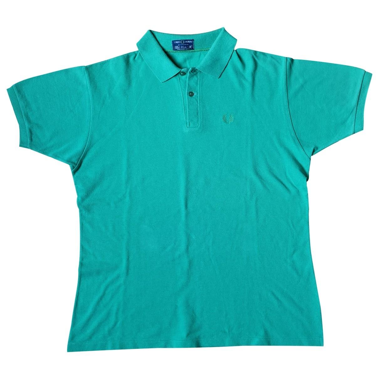 Fred Perry - Polos   pour homme en coton - vert