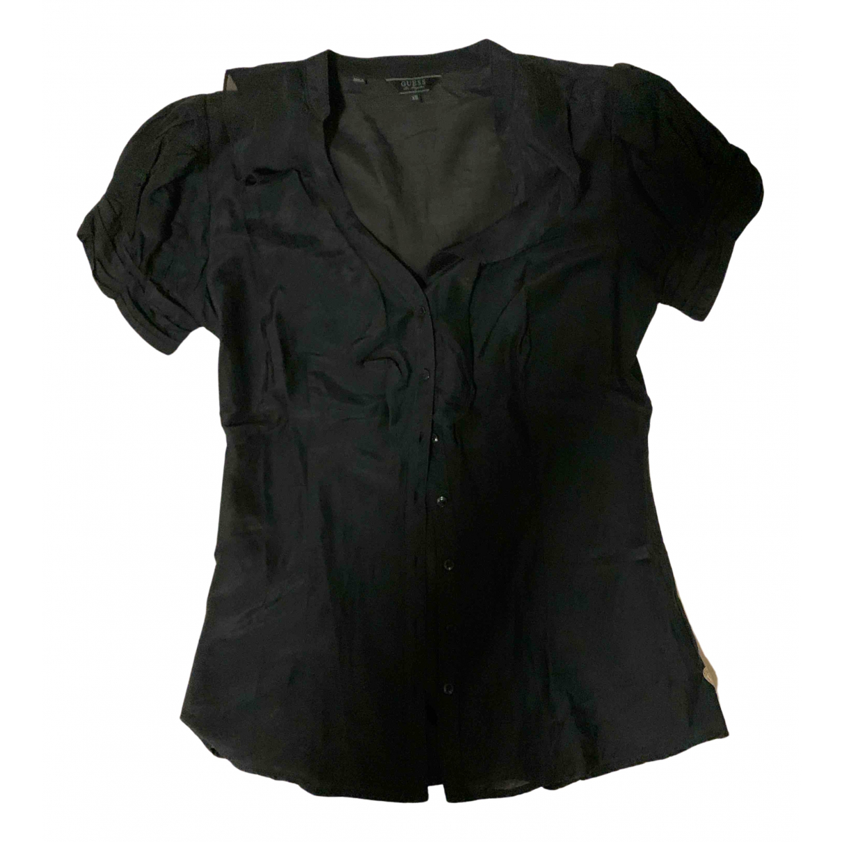 Guess N Black Cotton  top for Women 40 IT