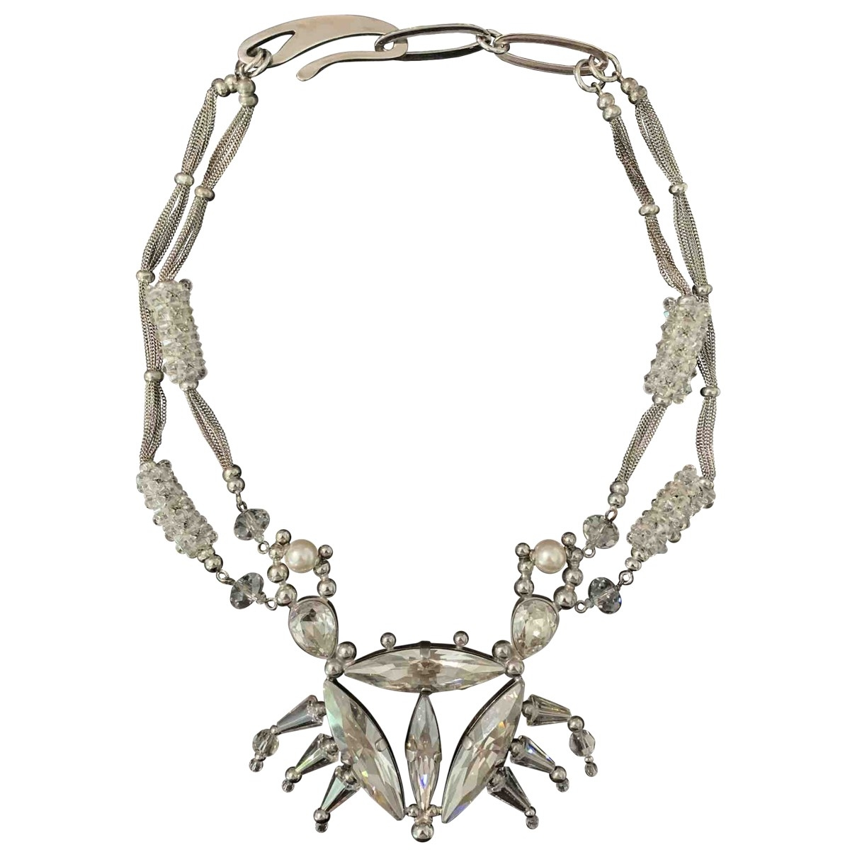 Giorgio Armani \N Silver Crystal necklace for Women \N