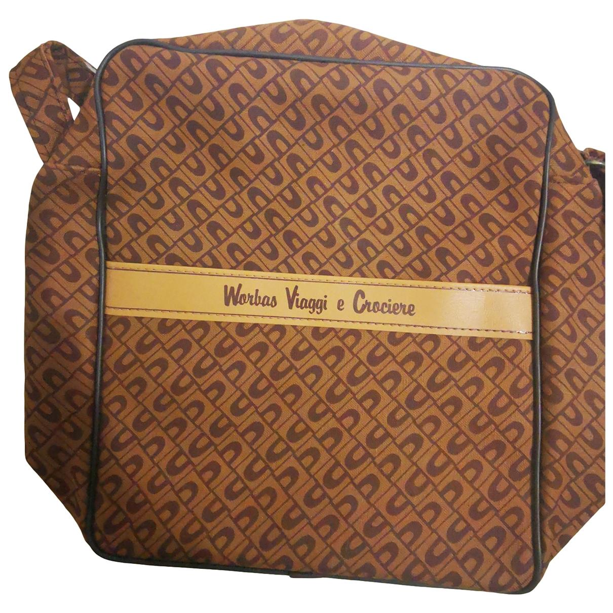 Non Signé / Unsigned \N Beige Cloth bag for Men \N