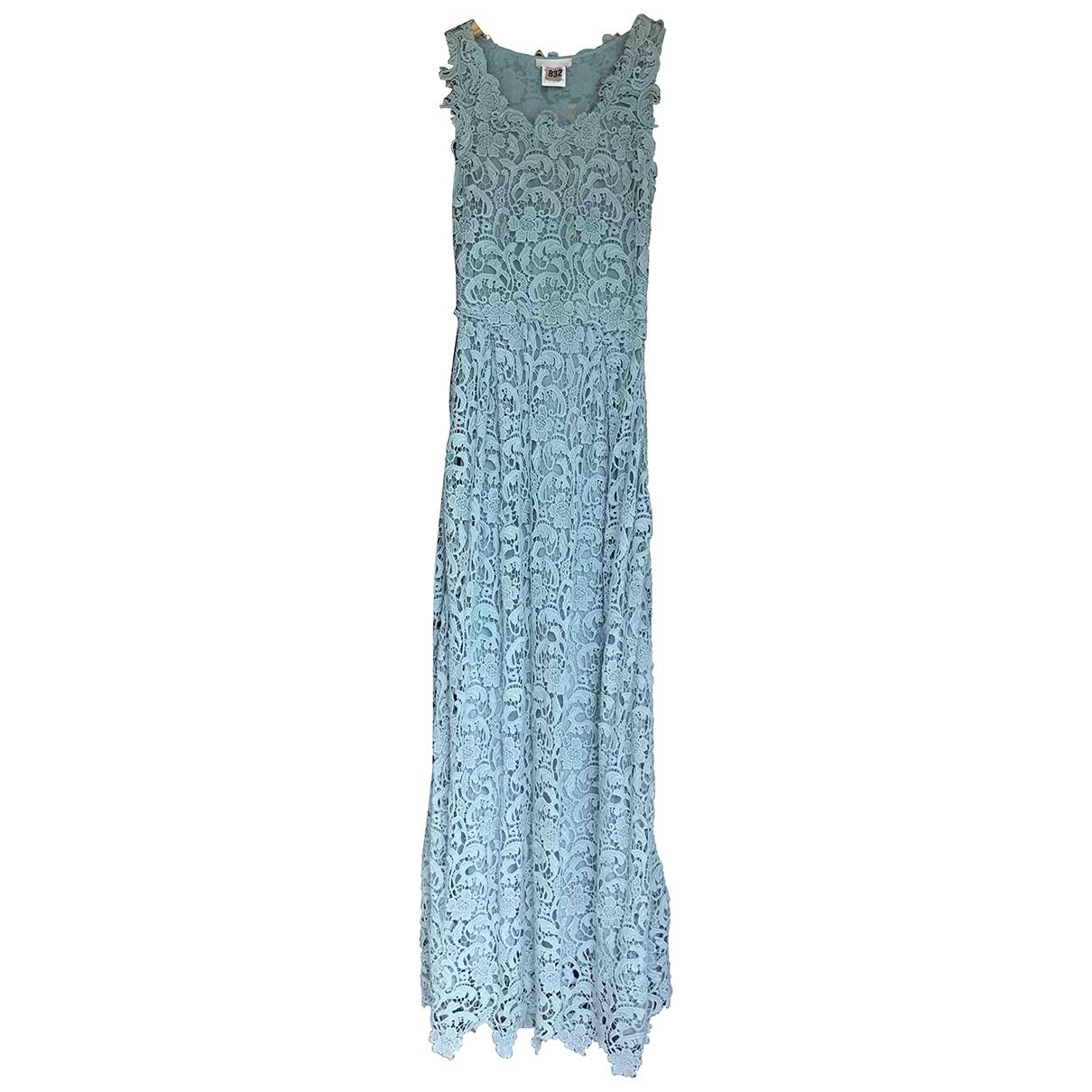 Ermanno Scervino \N Green Cotton dress for Women 38 FR