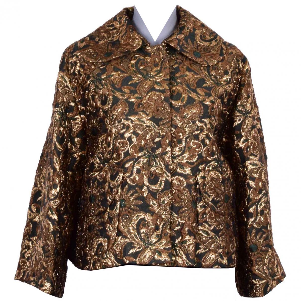 Dolce & Gabbana N Gold jacket for Women 38 IT