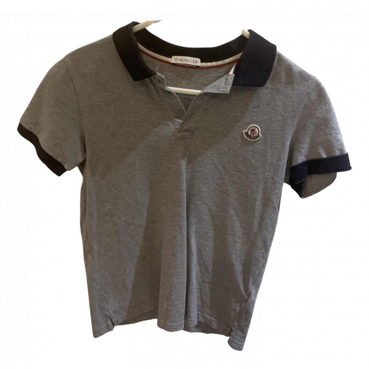 Moncler N Grey Cotton  top for Kids 12 years - XS FR