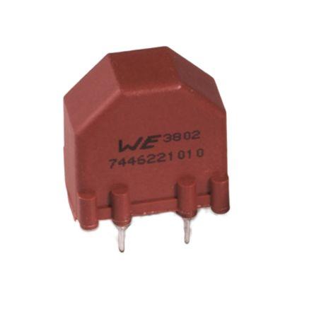 Wurth Elektronik 2 x 400 μH 3.6 A Common Mode Choke 2 x 0.02Ω