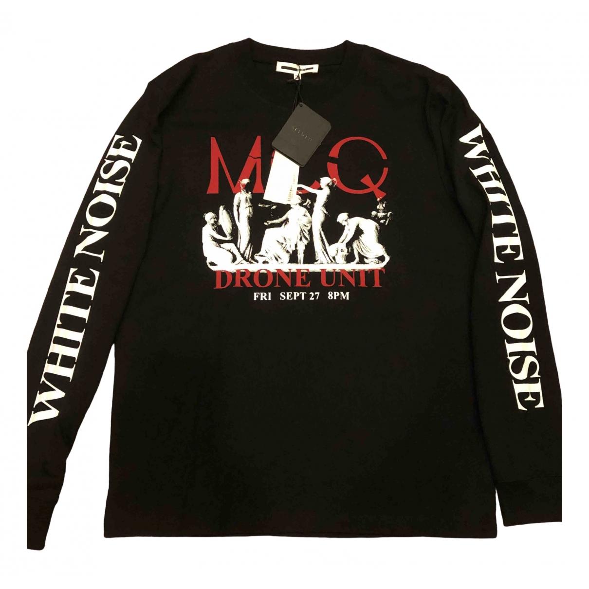 Mcq \N Pullover.Westen.Sweatshirts  in  Schwarz Baumwolle