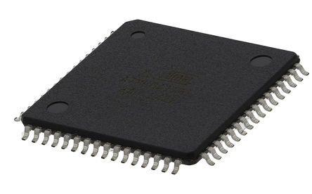 Microchip ATMEGA128L-8AU, 8bit AVR Microcontroller, ATmega, 8MHz, 128 kB Flash, 64-Pin TQFP