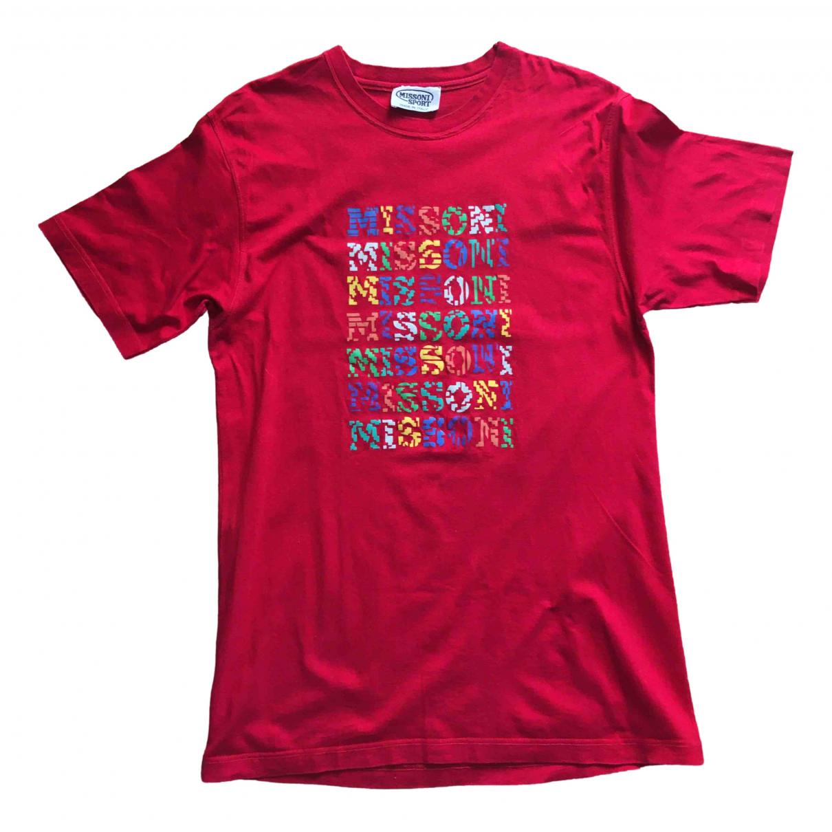 Missoni \N T-Shirts in  Rot Baumwolle