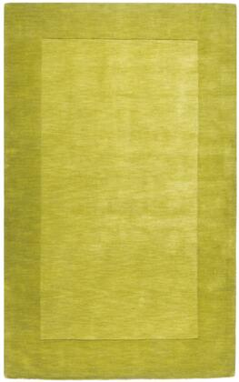 Mystique M-346 8' x 11' Rectangle Modern Rug in Lime