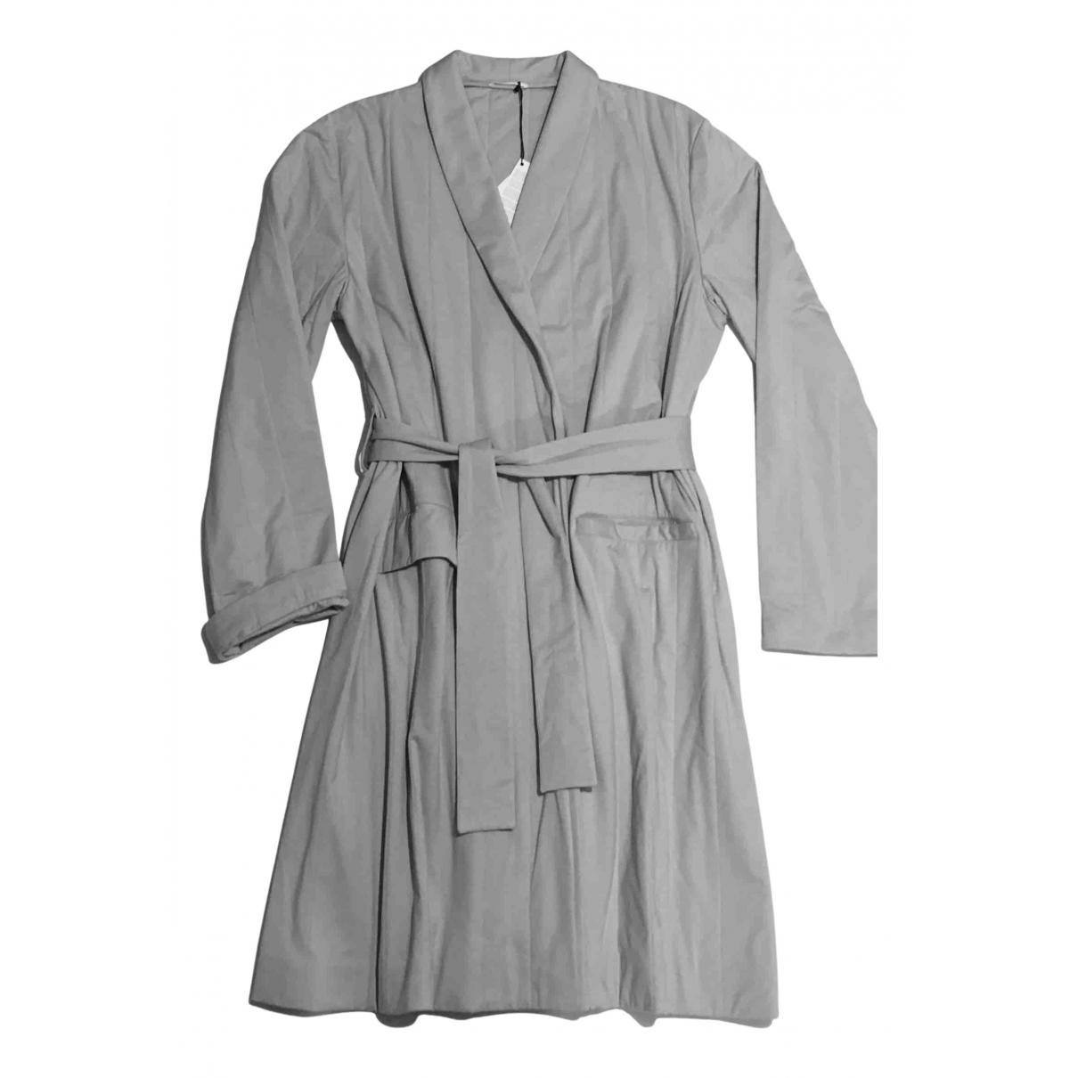 La Perla - Manteau   pour femme en coton - gris