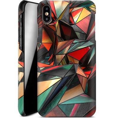 Apple iPhone XS Max Smartphone Huelle - Dirty Triangles von Danny Ivan