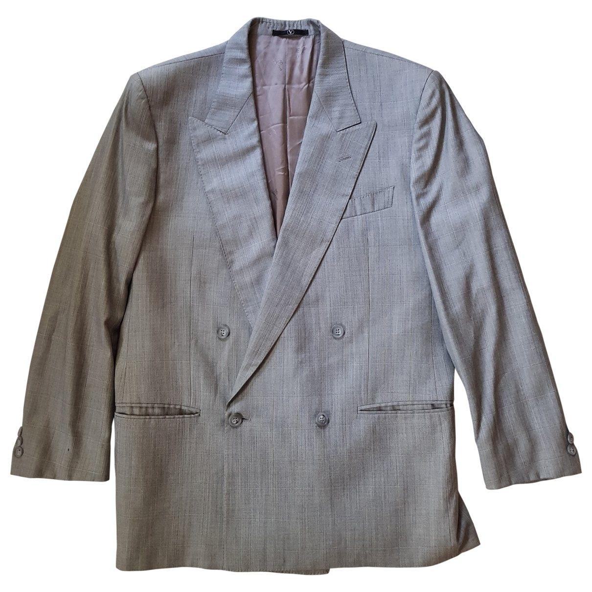 Valentino Garavani - Vestes.Blousons   pour homme en soie - gris