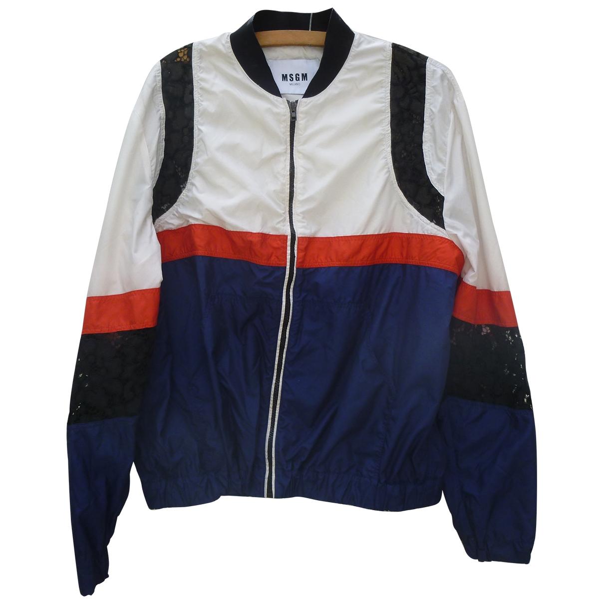 Msgm \N Blue jacket for Women 44 IT