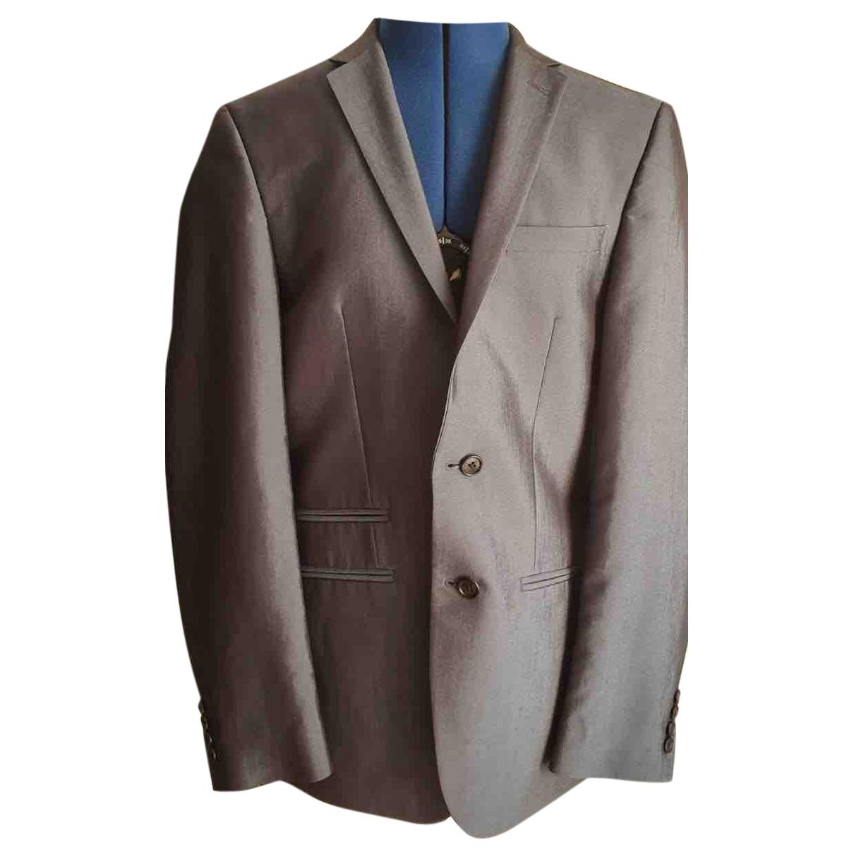 Macys \N Anzuege in  Grau Polyester