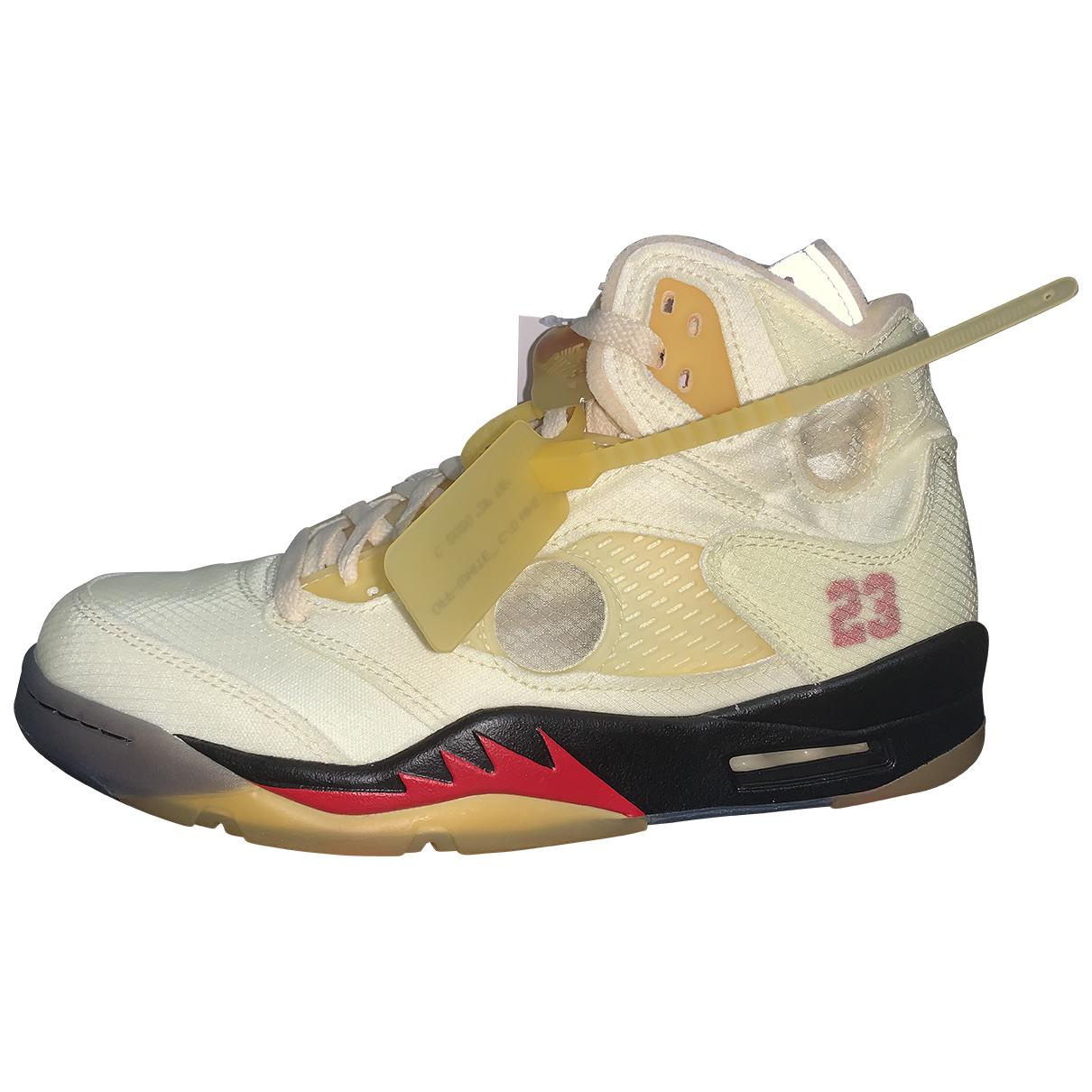 Deportivas Jordan 5 de Lona Nike X Off-white