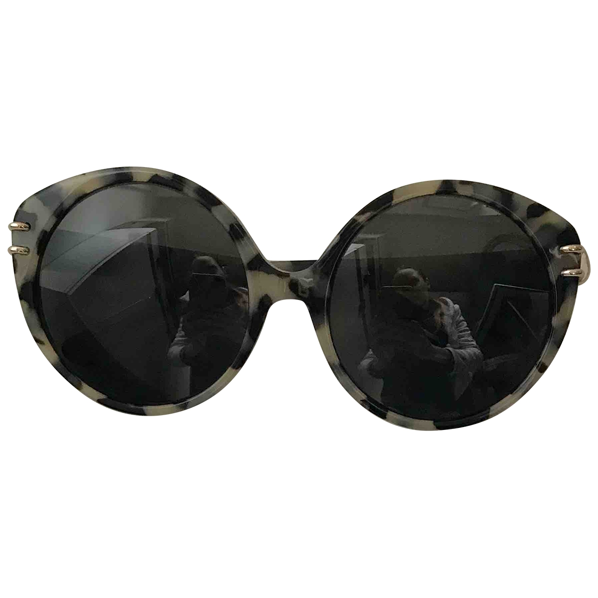 Roland Mouret \N Anthracite Sunglasses for Women \N
