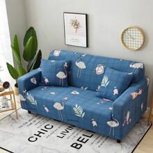 Sofabezug mit Flamingo Muster ohne Kissen