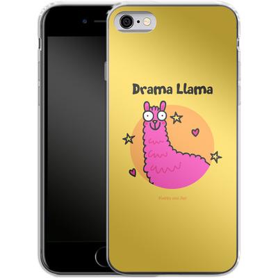 Apple iPhone 6s Silikon Handyhuelle - Drama Lama von Flossy and Jim