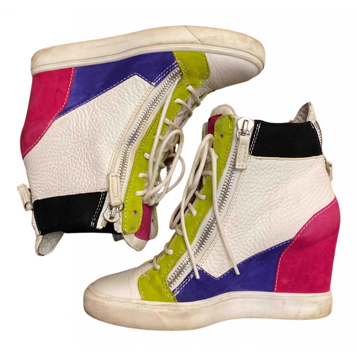 Giuseppe Zanotti - Baskets Donna pour femme en cuir verni - multicolore