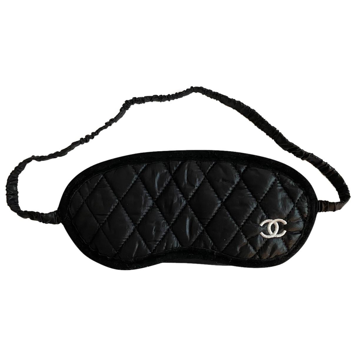 Chanel - Voyages   pour lifestyle en coton - noir