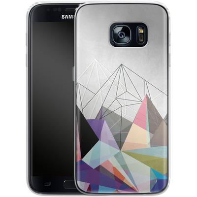 Samsung Galaxy S7 Silikon Handyhuelle - Colorflash 3 von Mareike Bohmer