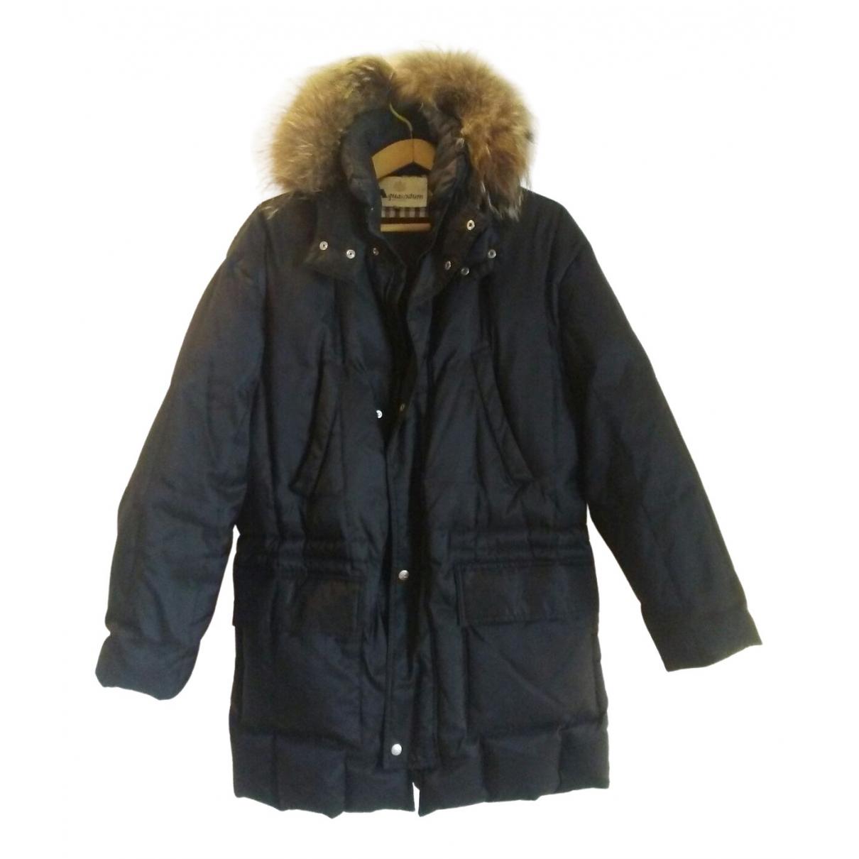 Aquascutum \N Black Cashmere coat  for Men 50 IT