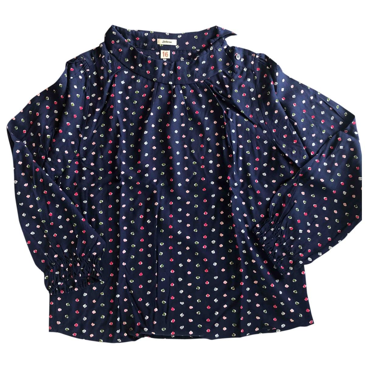 Bellerose - Top   pour enfant - bleu
