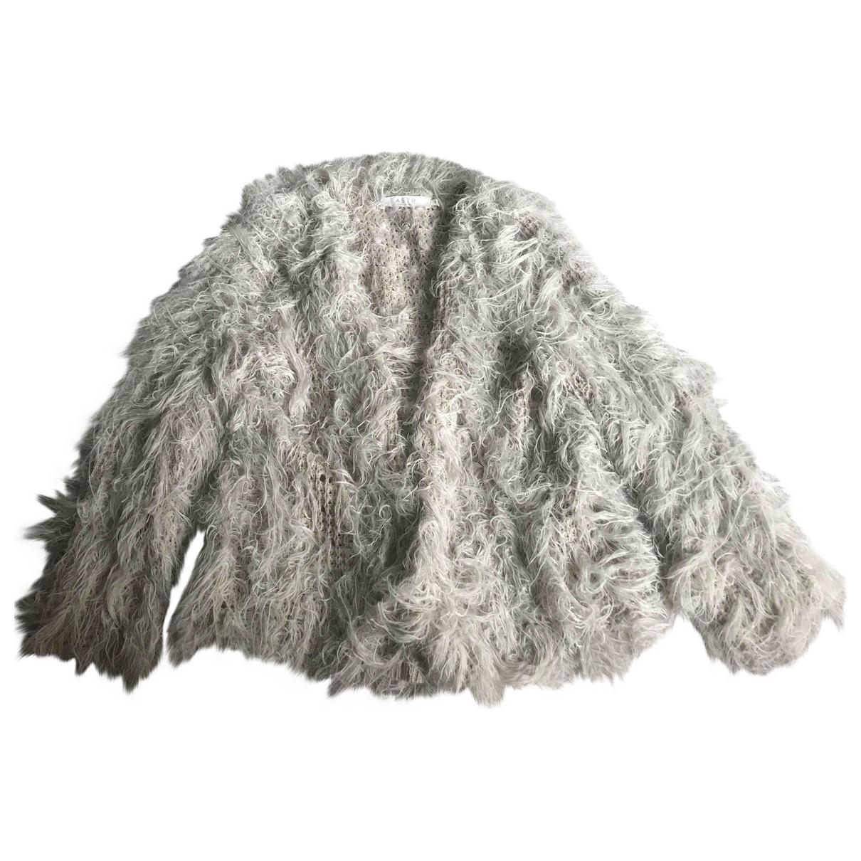 Non Signé / Unsigned \N Beige Faux fur jacket for Women 10 UK