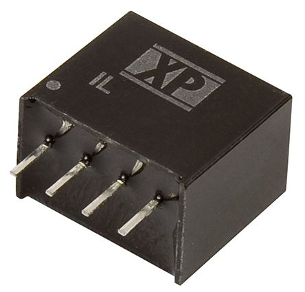 XP Power IL 2W Isolated DC-DC Converter Through Hole, Voltage in 10.8 → 13.2 V dc, Voltage out 12V dc