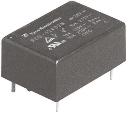 TE Connectivity , 5V dc Coil Non-Latching Relay SPNO, 10A Switching Current PCB Mount Single Pole