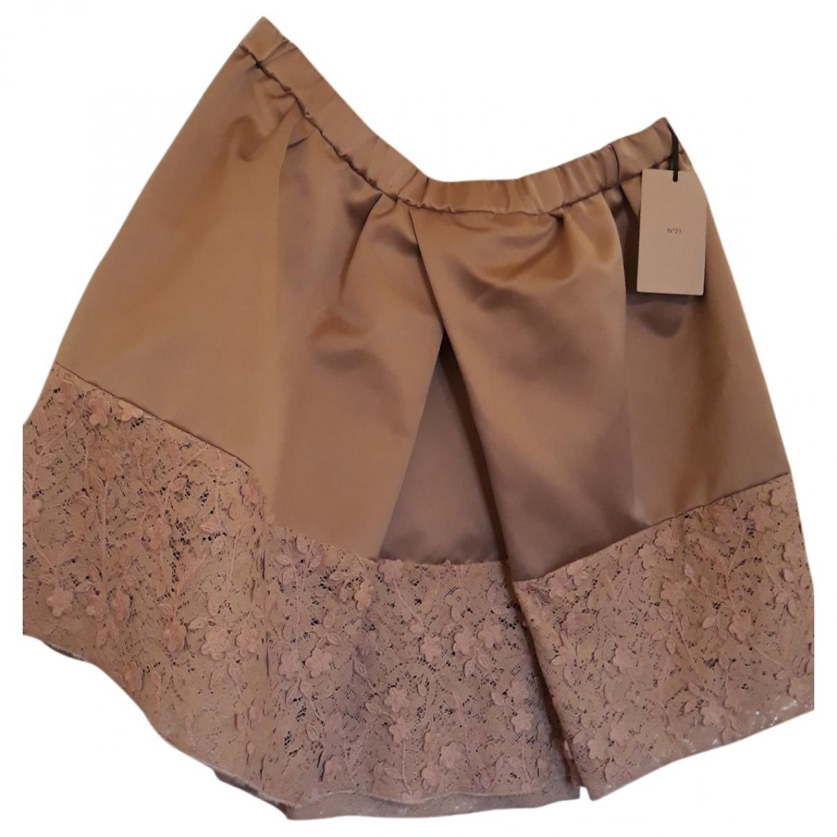 N°21 \N Beige skirt for Women 48 IT