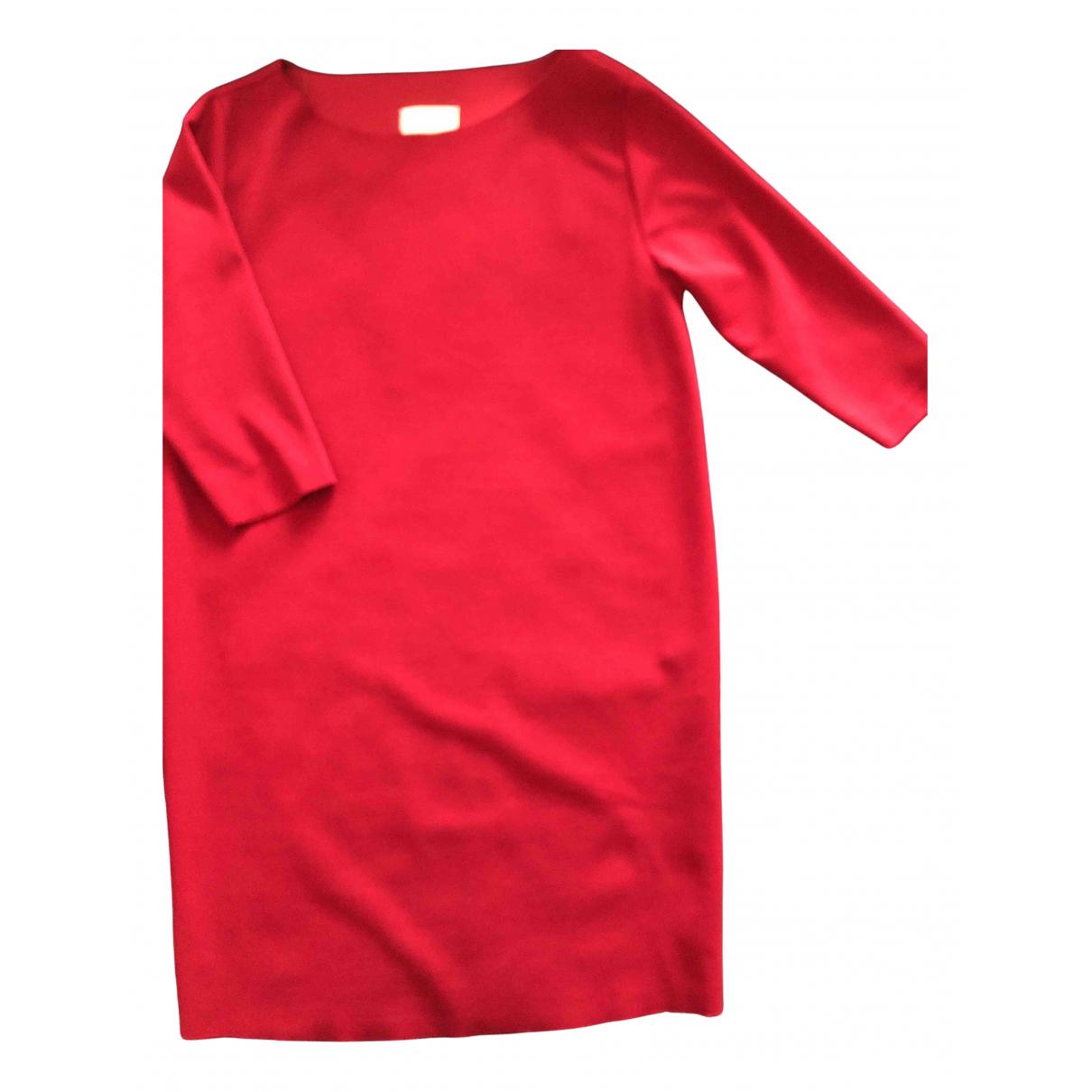 Vicolo \N Kleid in  Bordeauxrot Polyester