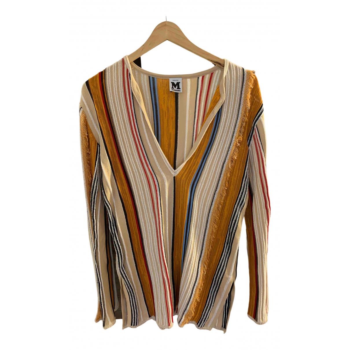 M Missoni N Multicolour Cotton Knitwear for Women 38 FR