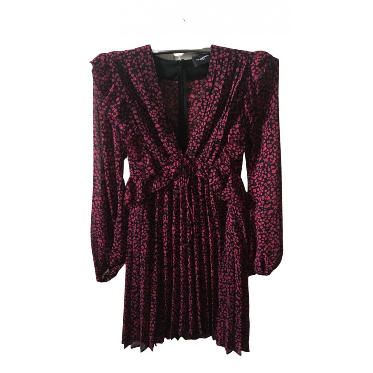 The Kooples Fall Winter 2019 Kleid in  Bunt Polyester