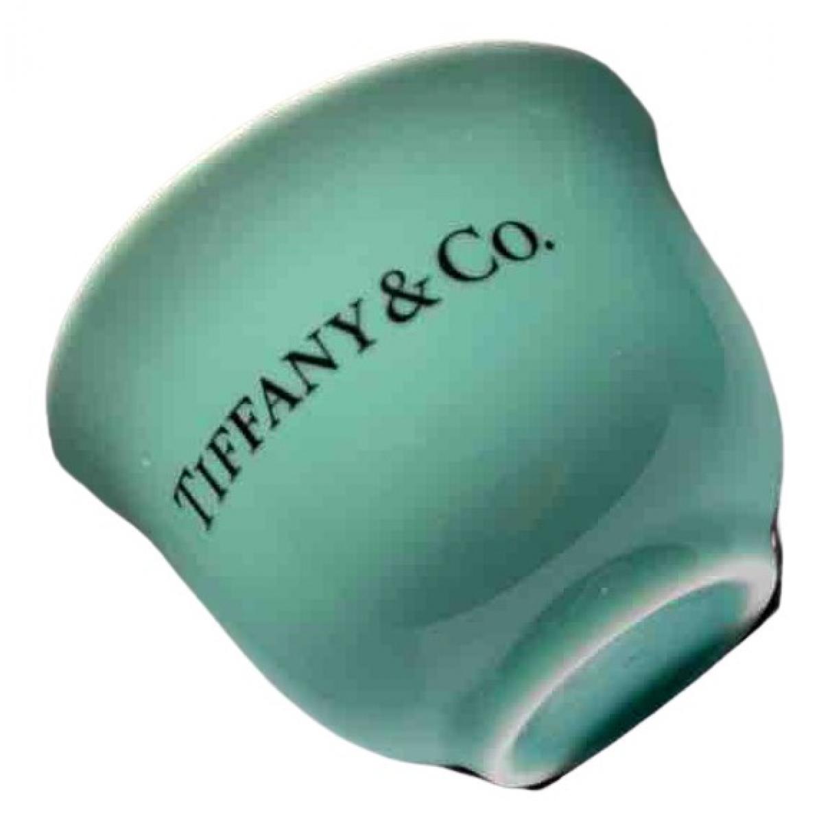 Tiffany & Co - Arts de la table   pour lifestyle en verre - bleu