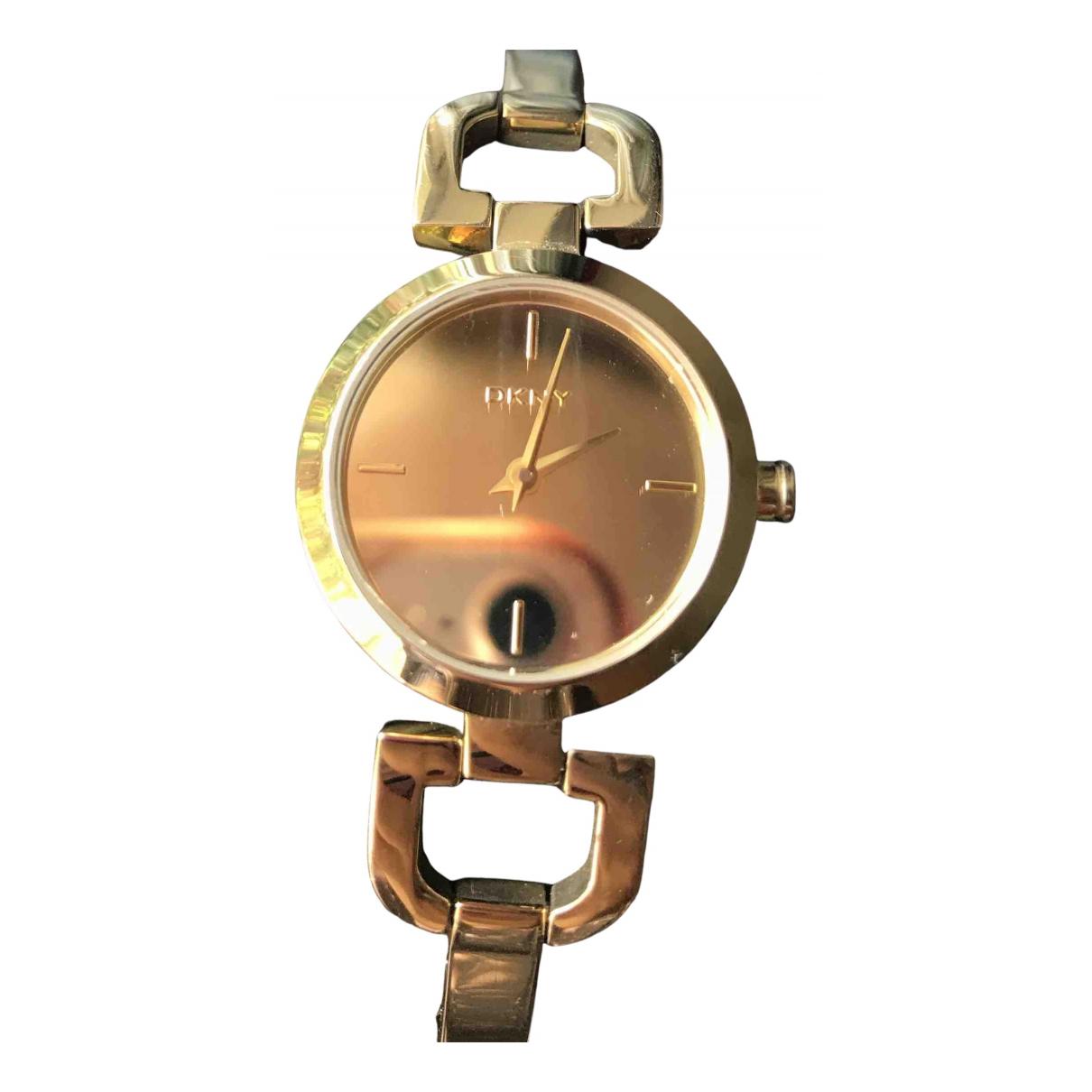 Dkny N Gold Steel watch for Women N