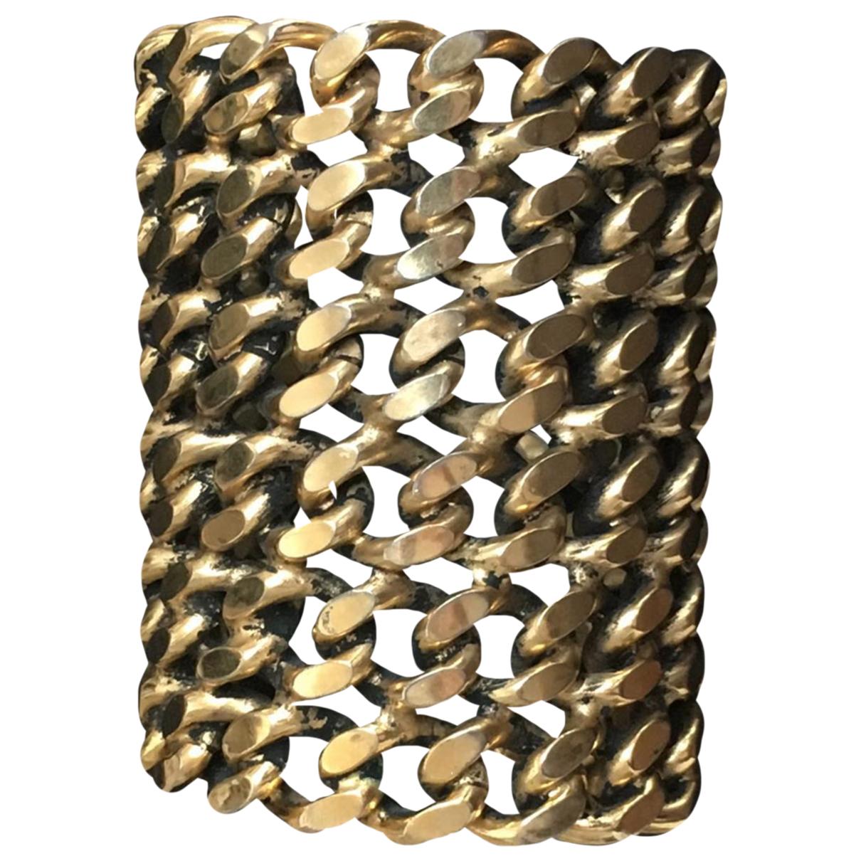 Neri Karra - Bracelet   pour femme en plaque or - jaune