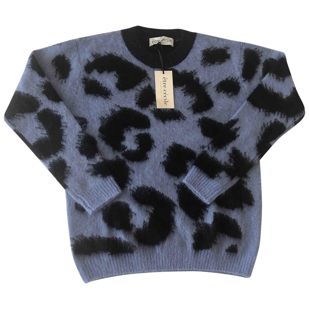 Etre Cecile - Pull   pour femme en laine - bleu