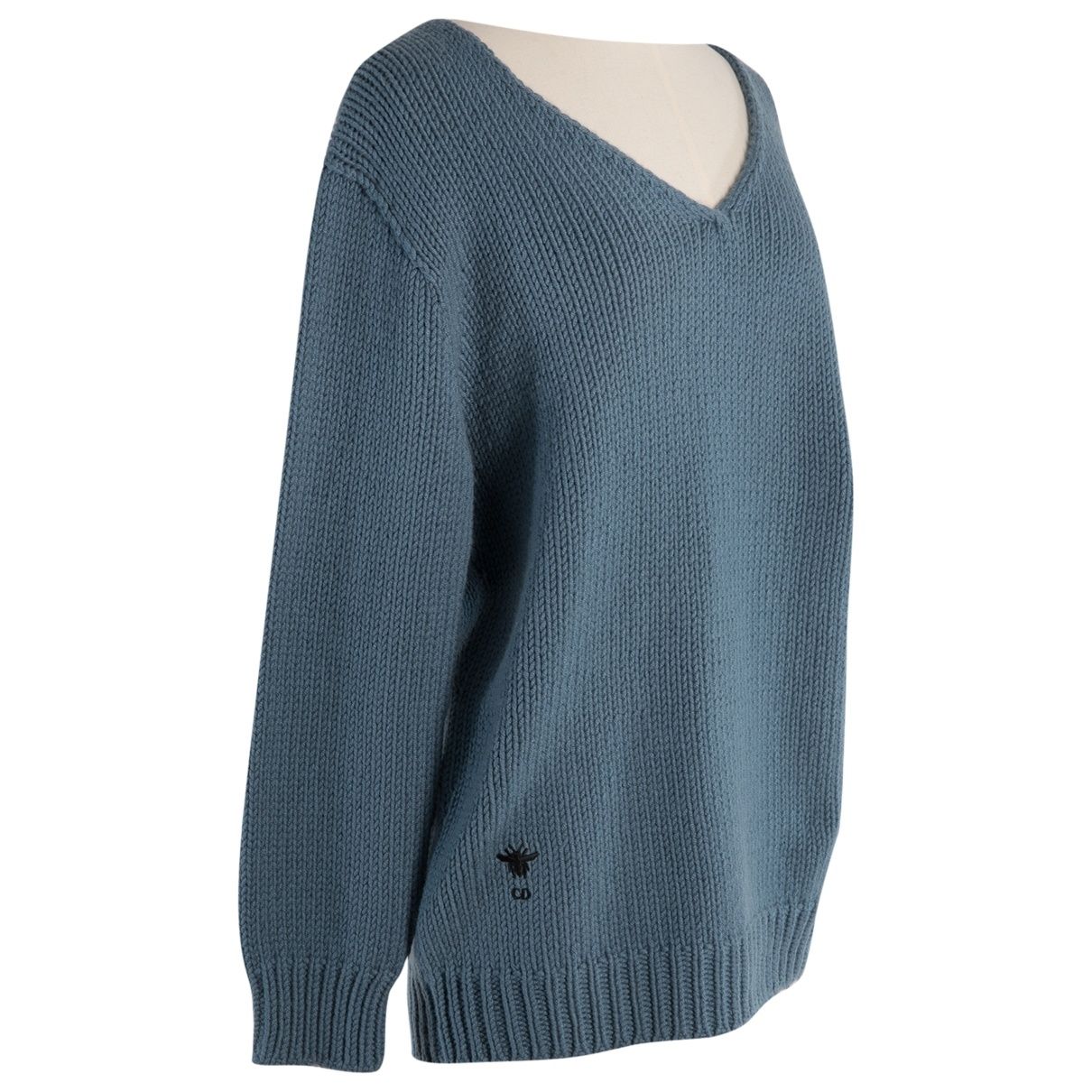 Dior \N Blue Cashmere Knitwear for Women 36 FR