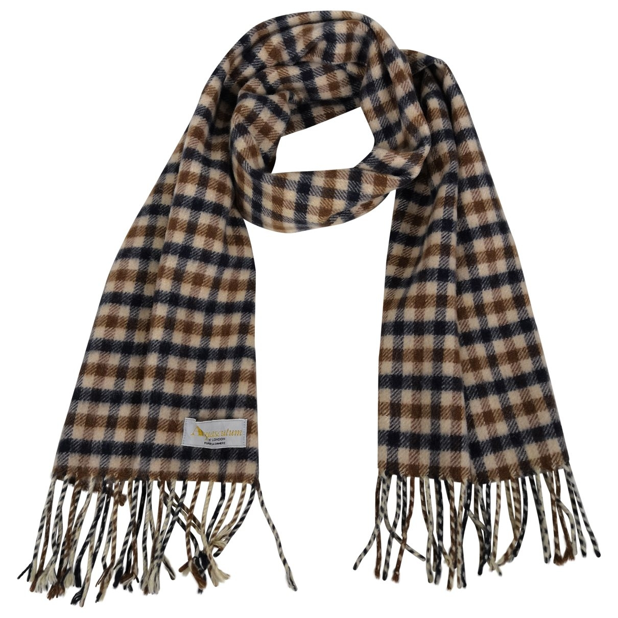 Aquascutum \N Cashmere scarf & pocket squares for Men \N