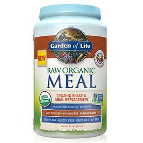 RAW Organic Meal Powder Vanilla Spiced Chai 1115g Powder by Garden of Life