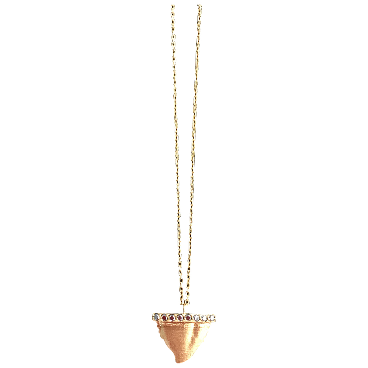Feidt N Yellow gold necklace for Women N