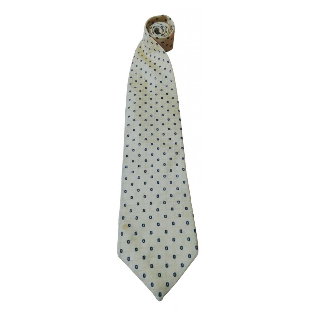 Armani Collezioni N Yellow Silk Ties for Men N