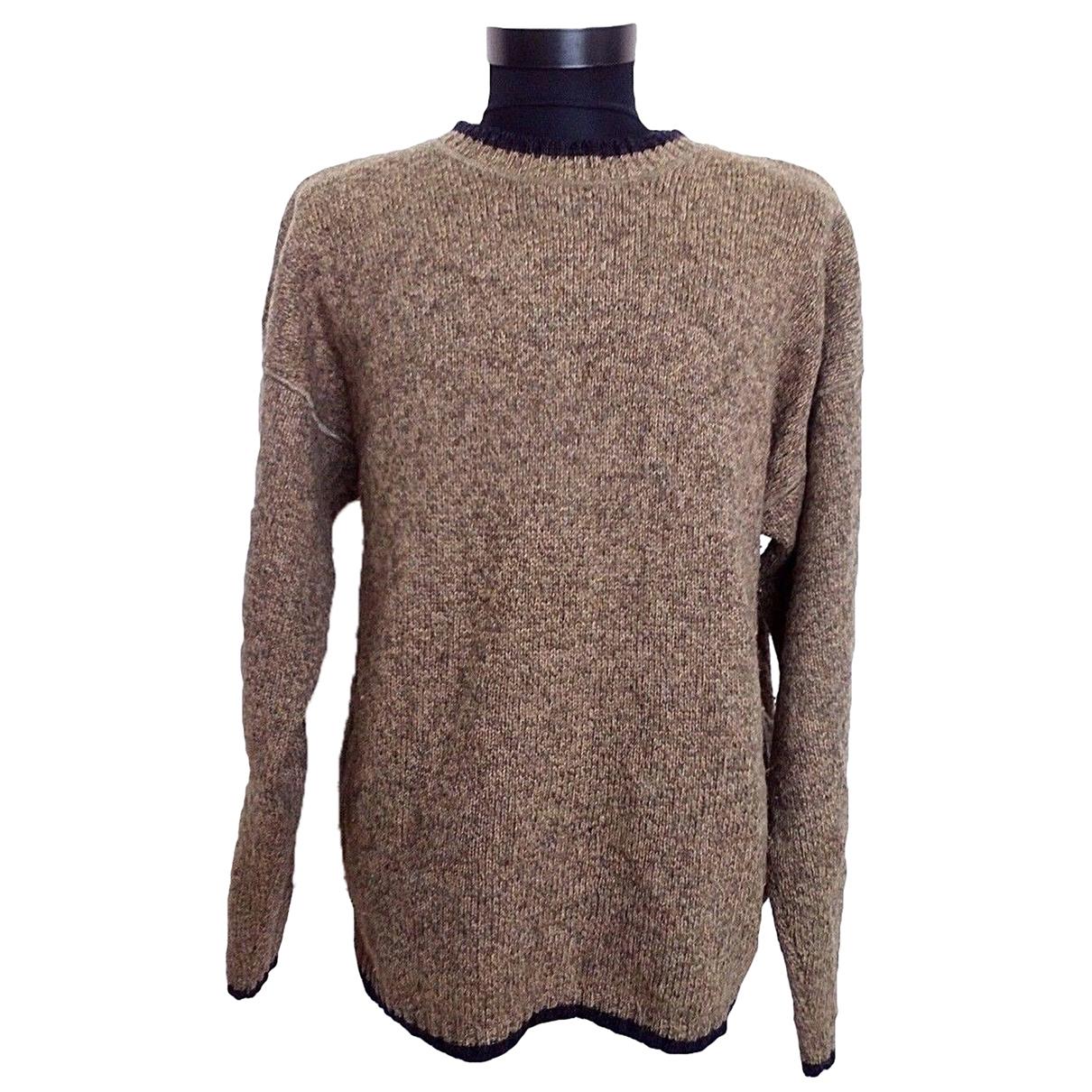 Woolrich \N Pullover.Westen.Sweatshirts  in  Beige Wolle