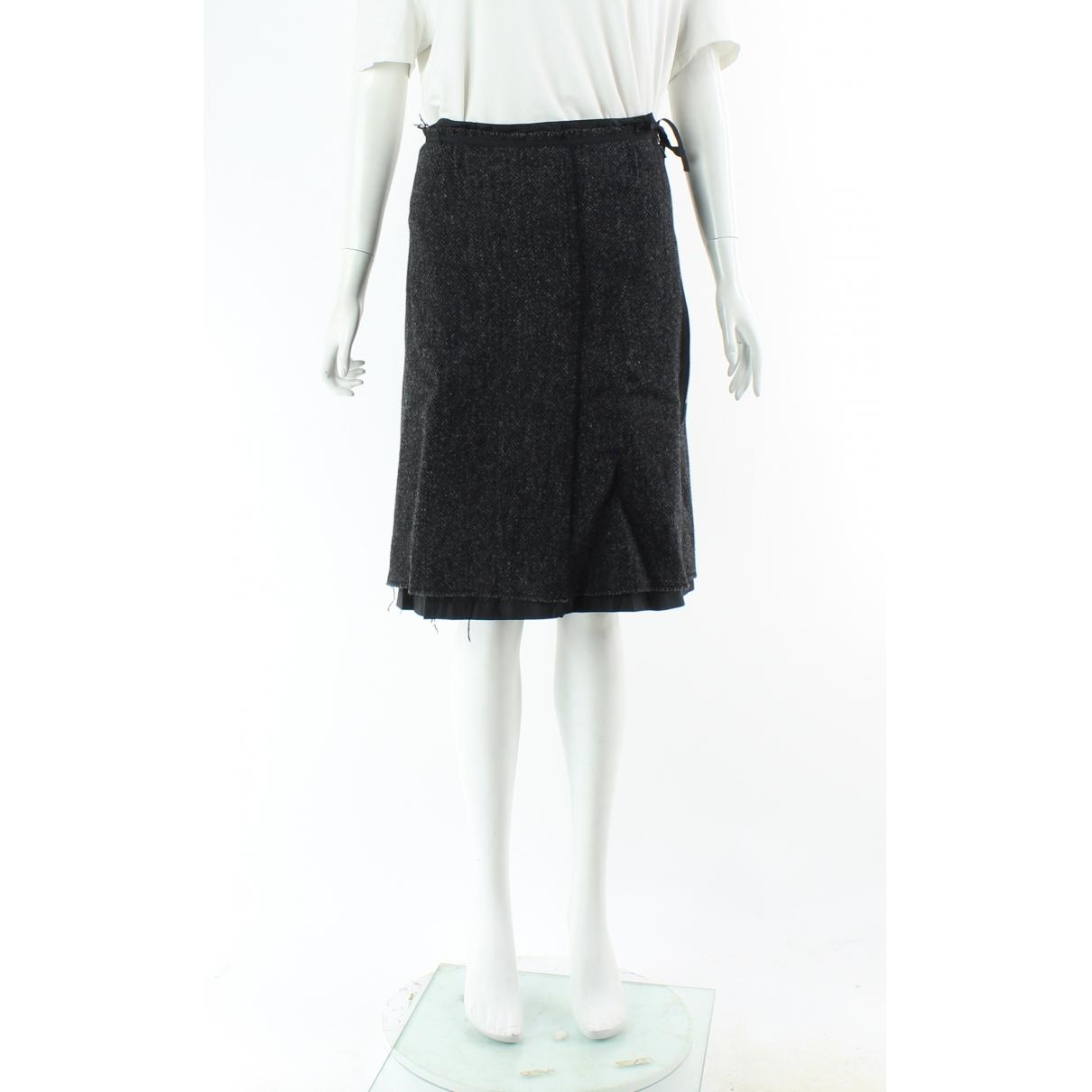 Prada \N Grey Wool skirt for Women 38 IT